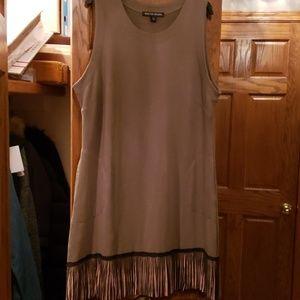 Boston Proper Dress With Fringe